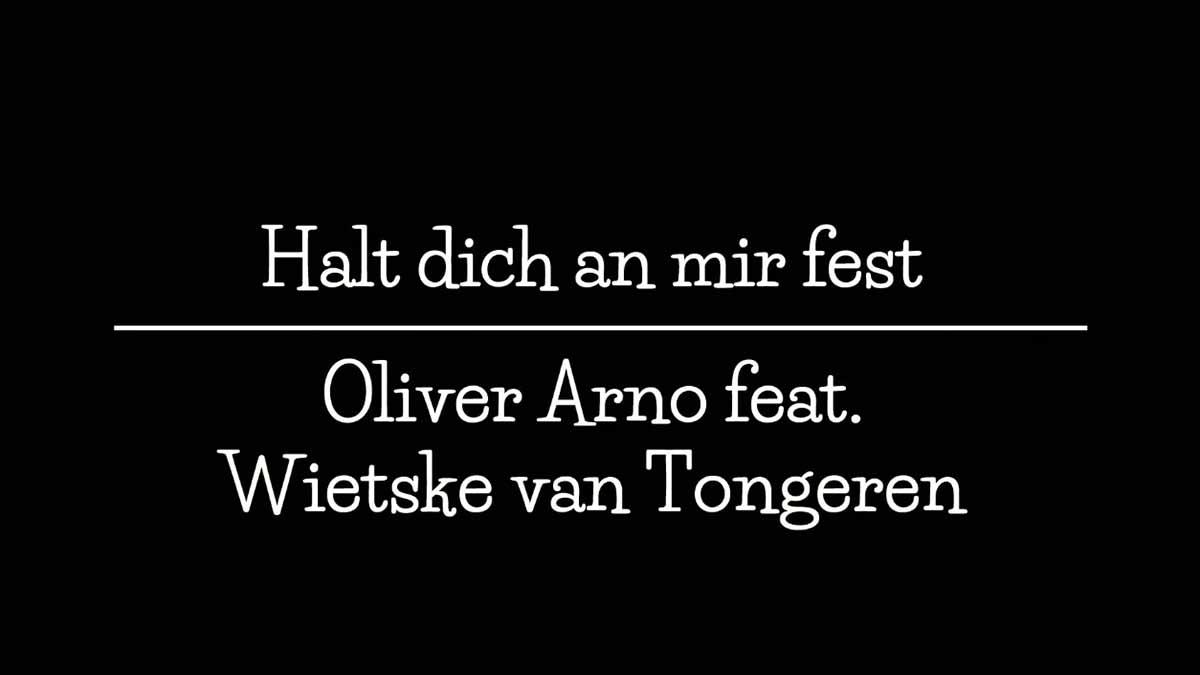 Halt dich an mir fest Cover | Oliver Arno + Wietske van Tongeren