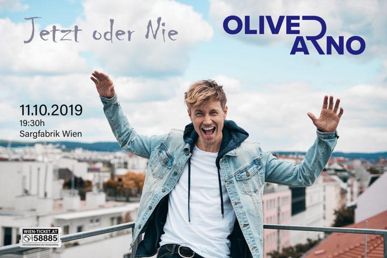 Oliver Arno Live Konzert 11.10.19 in der Sargfabrik Wien